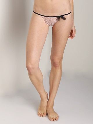 Only Hearts Whisper Sweet Nothings G-String Black/Petal