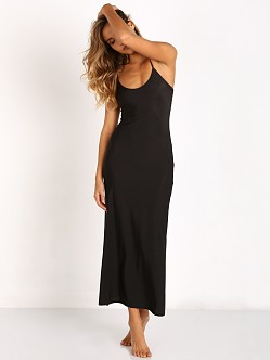 Only Hearts Second Skin Long Slip Black