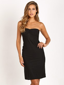 Only Hearts Second Skin Strapless Slip Black
