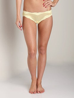 Only Hearts Tulle Brazilian Bikini Yellow
