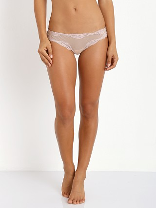 Only Hearts Tulle with Lace Brazilian Bikini Nude