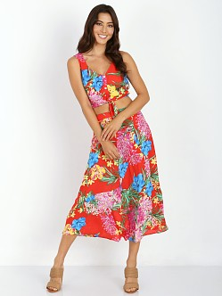 Show Me Your Mumu Tanya Tie Top Tropical Tango