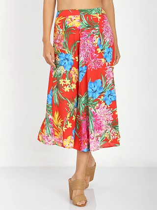 Show Me Your Mumu Tea Party Midi Tropical Tango