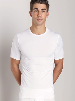 Naked Micromodal V Neck Undershirt White