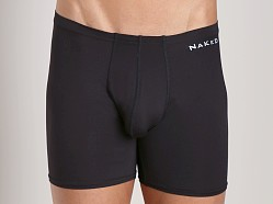 Naked Microfiber Boxer Brief Black