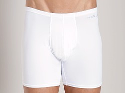 Naked Microfiber Boxer Brief White