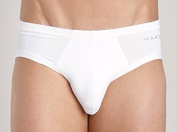 Naked Microfiber Brief White
