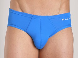 Naked Microfiber Brief Royal Blue