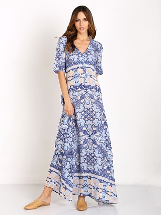 Somedays Lovin Trinket Button Up Maxi Dress Multi