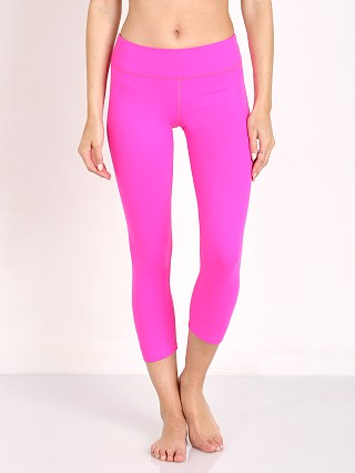 Beyond Yoga Back Gathered Carpi Legging Static Pink