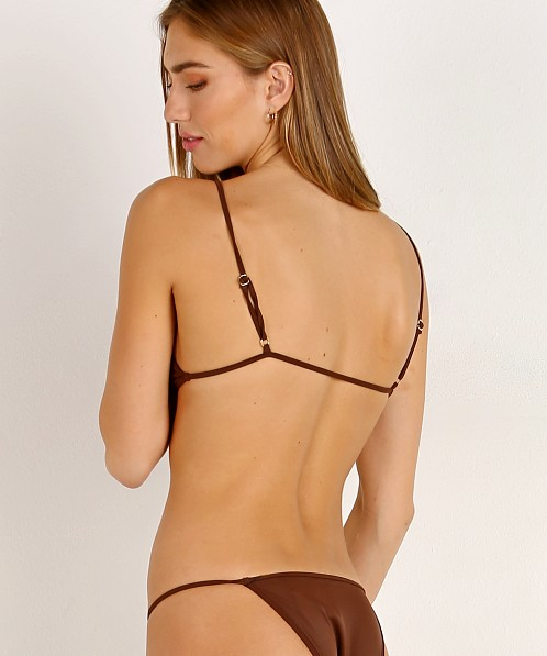 Kaohs Kelly Bikini Top Brown
