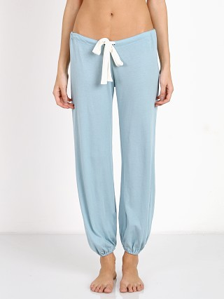 Eberjey Heather Cropped Pant Washed Denim