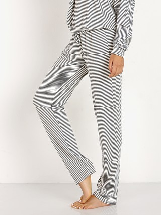 Eberjey The Drawstring Slim Pant Sadie Stripes