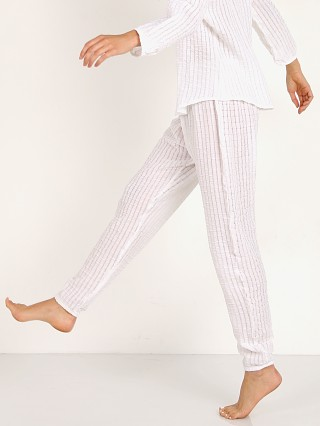 Complete the look: Eberjey Paz The Harem Pant White