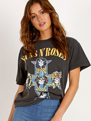 Daydreamer Guns and Roses Tee Vintage Black