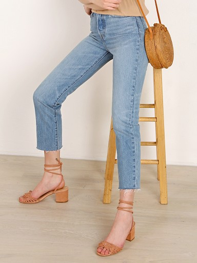 Levi's Wedgie Straight Leg Jean Rough Tide