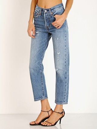 Complete the look: Levi's Wedgie Straight Leg Jean Before Dawn