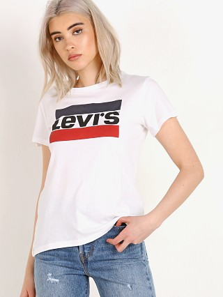 Complete the look: Levi's Levis Tee White
