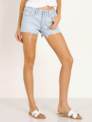 Levi's 501 Short Bleach Authentic
