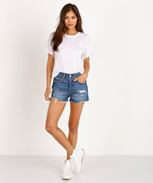 585a20f645 Levi's 501 High Rise Short Drive Me Crazy 56327-0001 - Free Shipping at  Largo Drive