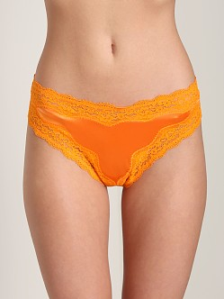 Stella McCartney Clara Whispering Thong Papaya