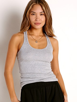 Model in heather SPLITS59 Ashby Rib Tank
