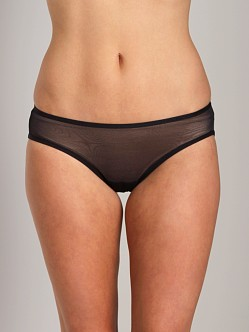 Only Hearts Whisper Sweet Nothings Lacey Knicker Black