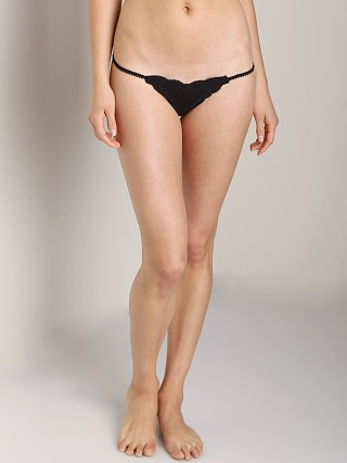 Only Hearts Tulle With Lace Baby G-String Black