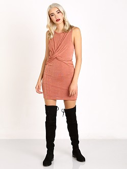 MinkPink Forbidden Love Mini Dress Dusty Rose