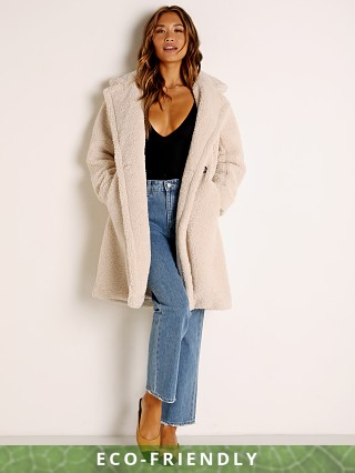 APPARIS Anouck Faux Fur Jacket Ivory