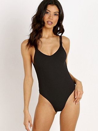 You may also like: Vitamin A Leah Bodysuit One Piece Black Eco Rib