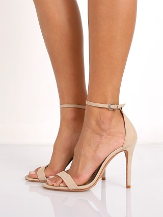 Model in oyster Schutz Cadey Lee Sandal