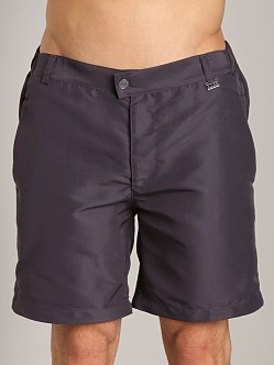 Hugo Boss Tigerfish Swim Shorts Dark Grey