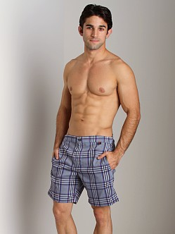 Hugo Boss Crocodile Shark Swim Boxer Grey