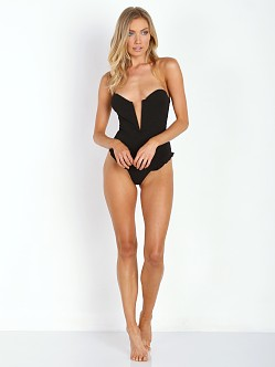 Beach Riot + Stone Cold Fox Daphine One Piece Black