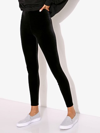 Commando Velvet Legging Black