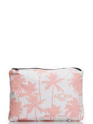 Aloha Coco Palms Mid Size Pouch Coral