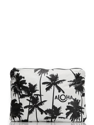 Aloha Coco Palms Mid Size Pouch Black