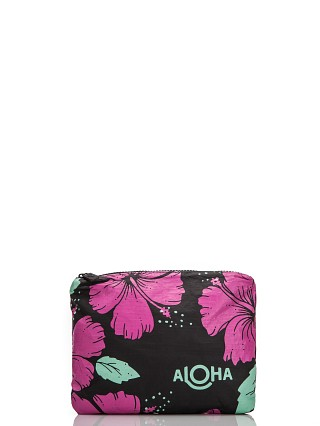Aloha Hibiscus Small Pouch Pitaya Hibiscus