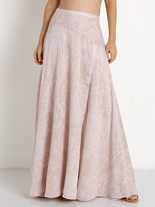 The Jetset Diaries Zambia Maxi Skirt Blush