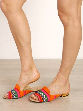 You may also like: Schutz Alexane Crochet Sandal Multicolor