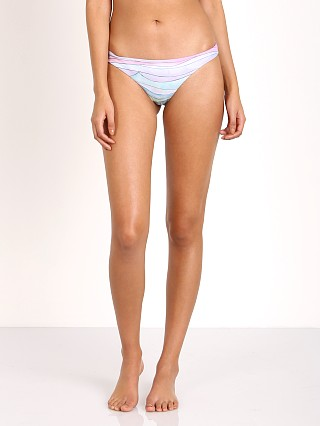 Mara Hoffman Waves Low Rise Bikini Bottom Dusty Rose