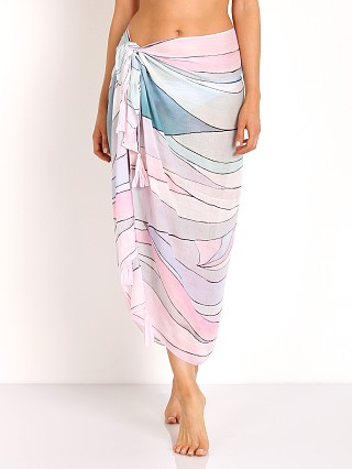 Mara Hoffman Waves Sarong Dusty Rose
