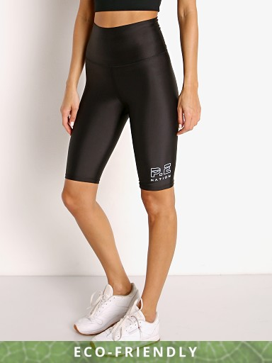 Model in black PE NATION Endurance Short