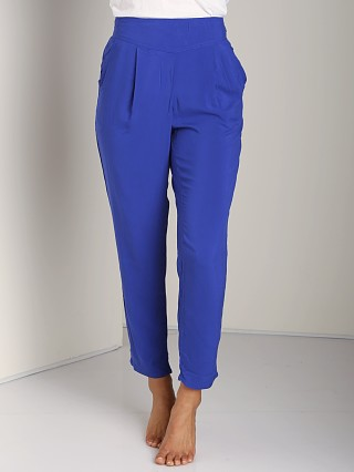 Free People Easy Pleat Pant Royal Blue