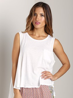 Free People Beach House Top White