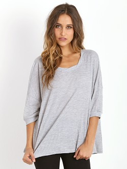 Free People Story Teller Top Heather Grey