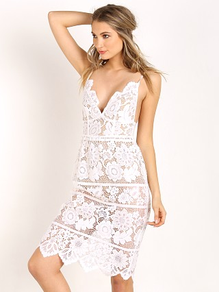 For Love & Lemons Gianna Dress White