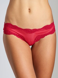 Only Hearts Tulle Brazilian Bikini Ruby
