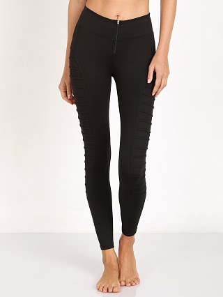 Koral Tier Cropped Legging Black